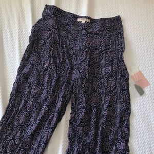 Forever21 Contemporary Patterned Pants